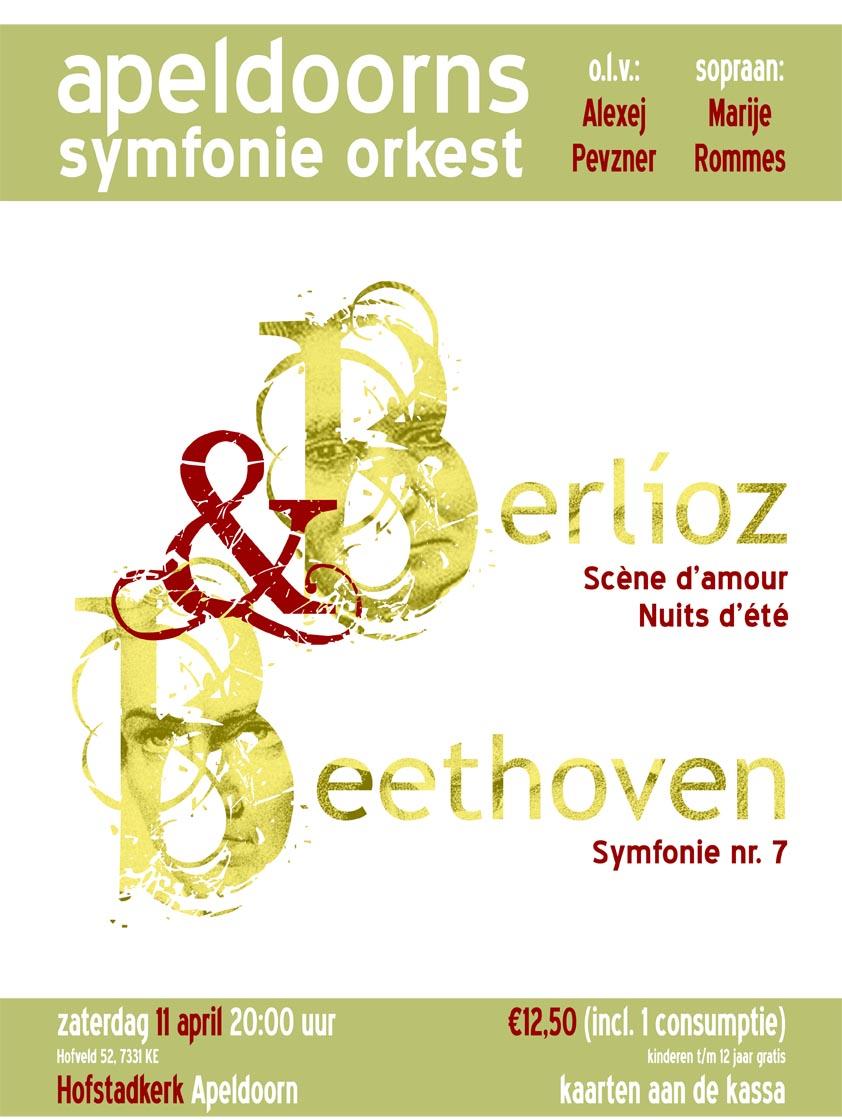 Poster Berlioz Beethoven