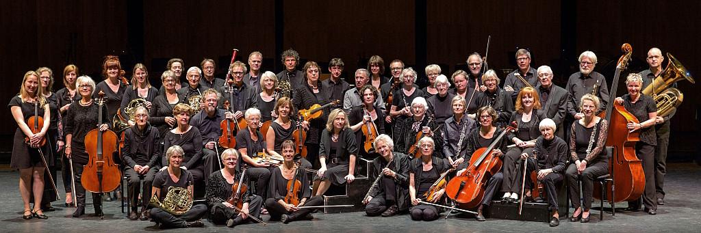 Apeldoorns Symfonieorkest gefotografeerd door Rien Hokken.